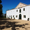 Another view of the Cloete Cellar buidling at Groote Constantia estate.