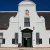The 17th century manor house of Groot Constantia - the epitome of Cape Durtch architecture in South Africa.