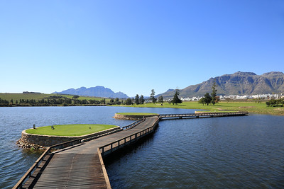 De Zalze Golf & Country Club, Stellenbosch, South Africa - Hole 13