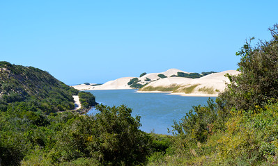 Dunes along the Sundays river mouth