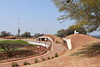 Fort Schanskop, Pretoria, 23 September 2018 6.  Here are two general views of the fort's interior.  It is one of four forts built in 1896 - 1897 to protect Pretoria, capital of the Boer South African Republic.  Schanskop is one of three designed by Krupp for a garrison of thirty men and various guns.  These were removed when the Boer War broke out in 1899, and the fort was empty when occupied by the  British in 1900.