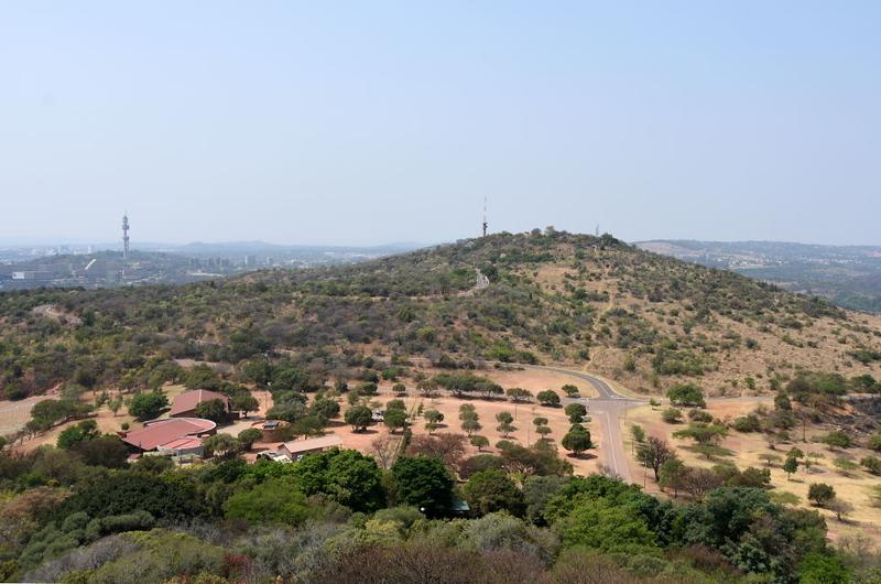 Fort Schanskop, Pretoria, 23 September 2018 1.   Looking east to the fort from the Voortrekker Monument.