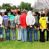 Find the Ball Activity, World AIDS Day event, Potchefstroom, South Africa, 1 Dec 2012