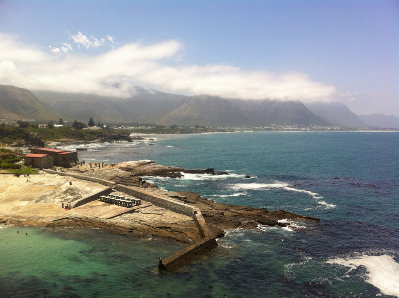 View From The Cliffs at Hermanus, South Africa