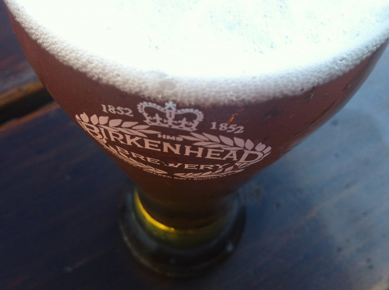 Named after the HMS Birkenhead that was shipwrecked on Hermanus's shores, the Birkenhead Brewery's logo carries a permanent reminder of its origins and the date of the tragedy