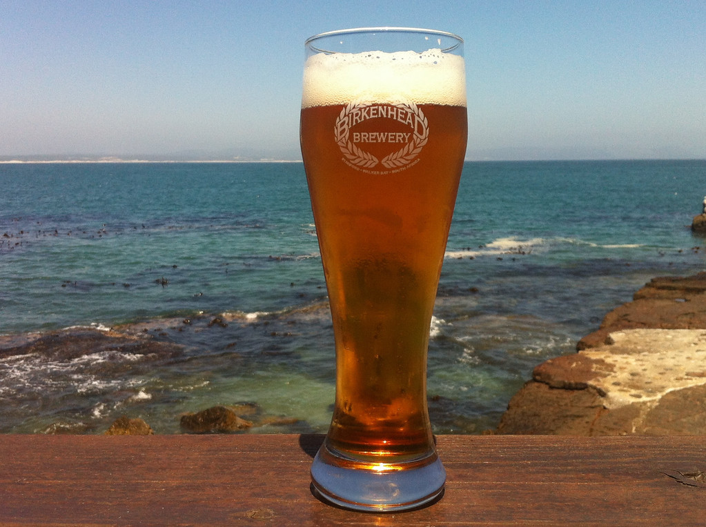 Keep an eye out for whales while enjoying the local brew, Birkenhead Beer