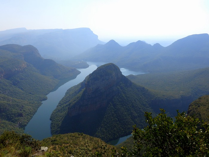 Blyde River Canyon - largest green canyon in the world.