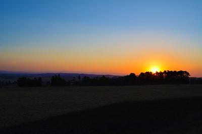 Midlands Sunset