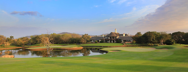 Leopard Creek Golf Club, Kruger National Park, South Africa - Hole 9 and 18