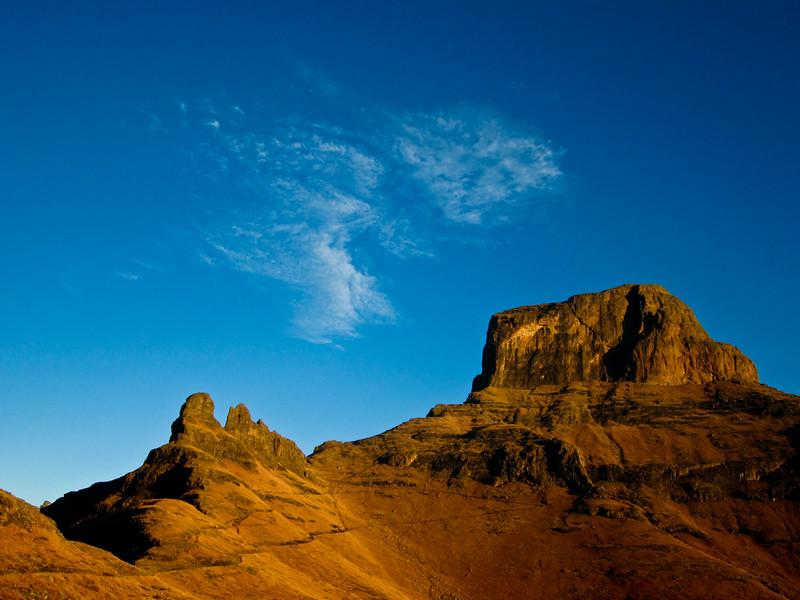 Drakensberg - The Sentinel Peak