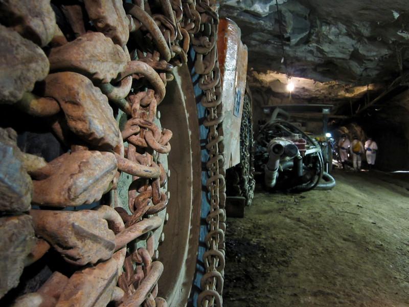 Cullinan Diamond Mine - 763 meters underground