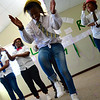 SKILLZ Street graduation, Alexandra coaches dancing for their participants (featured, Coach Nomsa), June 2014