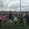 Energizer with the Young Explorers and SKILLZ Banyana Girls