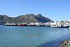 Hout Bay, 16 September 2018 1.  Hout Bay is south of Cape Town on the Atlantic side of the Cape Peninsuala.  As the boats show, it is stil a working fishing port as well as a tourist destination.