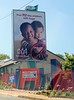 KFC billboard in Randburg, Johannesburg, South Africa in February 2015. Your r2 fills children with hope. Add hope, spread hope