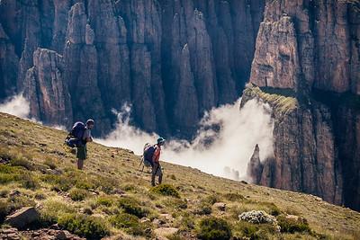 Mnweni Cutback, Natal Drakensberg