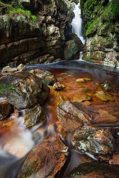 First Waterfall, Jonkershoek, Stellenbosch