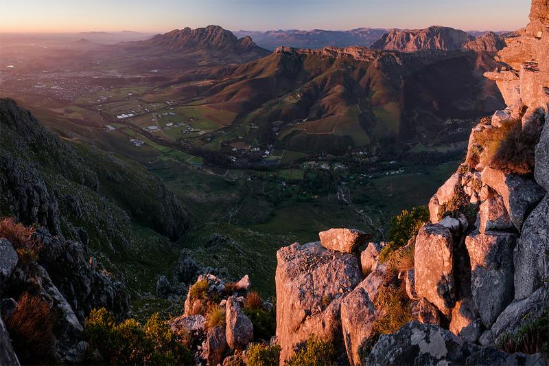 Jonkershoek Valley, Stellenbosch, June 2018