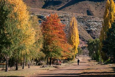 Autumn in Rhodes, Eastern Cape 2008