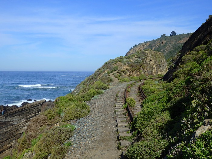 The views along Wilderness' coast