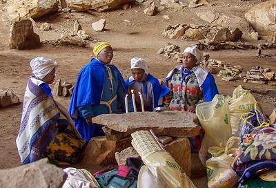 Praying in Motouleng