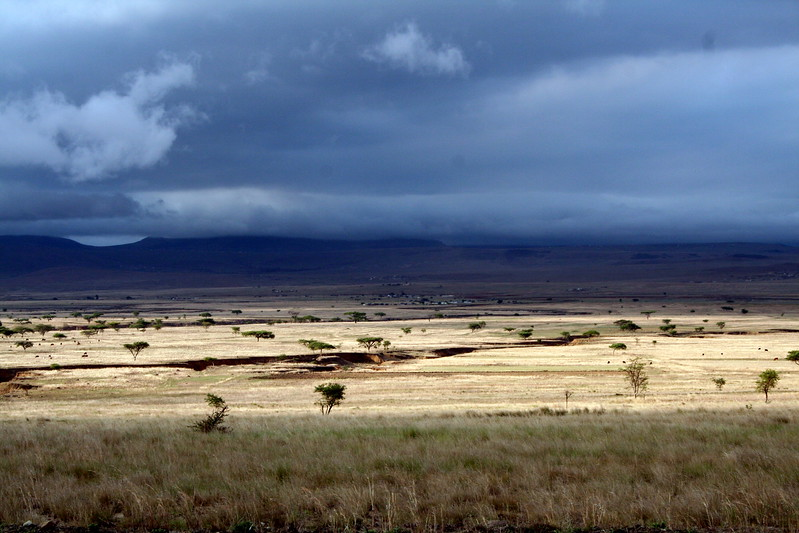 Clouds in the Zululand