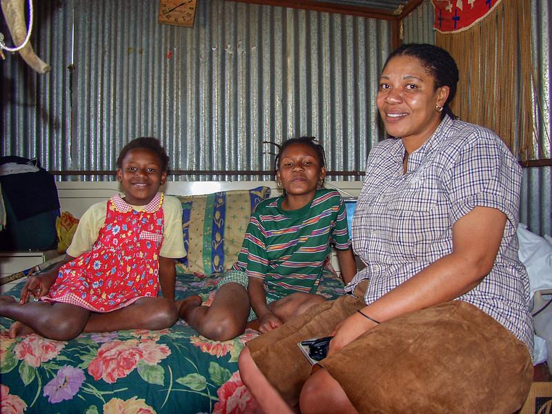 Sibongile, Desree and Nozipho, Soweto