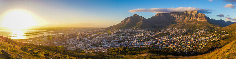 Sunrise Over Cape Town, South Africa