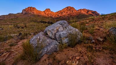 Mostertshoek Mountain, Wolseley, Western Cape