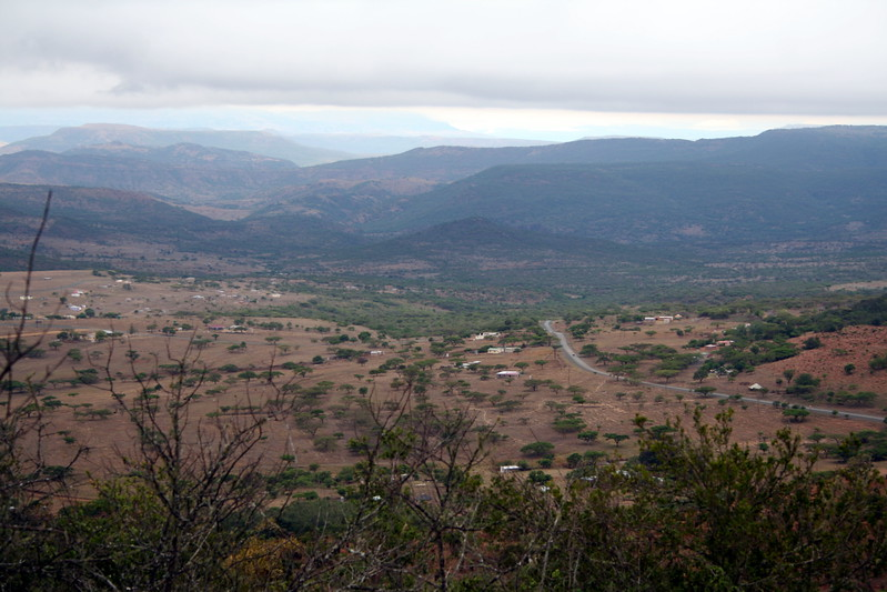 Panorama of Zululand