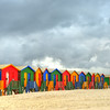 Muizenberg Beach Changing Huts