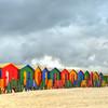 Muizenberg Beach Changing Huts