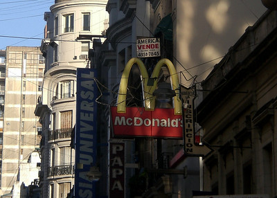 Oh, McDonald's... following me around wherever I go.