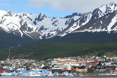 The town of Ushuaia