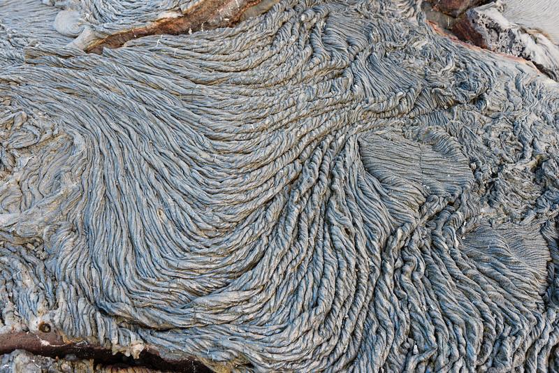 Rope Lava, Santiago Island, Galapagos