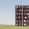Thinking is a Revolutionary Act - Artist Marie Orensanz - Parque de Memoria