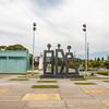 Sin Título sculpture by Argentinian artist Roberto Aizenber in Parque de Memoria Buenos Aires