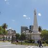 Plaza de Mayo national monument Pirámide  de Mayo Buenos Aires