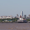 Buenos Aires skyline from the harbour