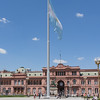 The Pink Palace, known as Casa Rosada, Buenos Aires Argentina