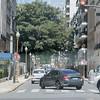 Traffic off Callao Aveune Buenos Aires, Argentinia
