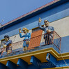 Visit the Buenos Aires - La Boca's colorful Caminito street museum