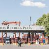 Port terminal Rio del la Plata Buenos Aires