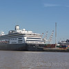 Holland America cruise ship Zaandam docks in Buenos Aires, Argentina