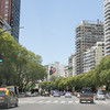 Pan American Highway runs through Buenos Aires, Argentina