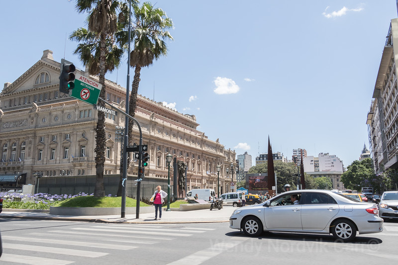 The Teatro Colón is the main opera house in Buenos Aires Argentina