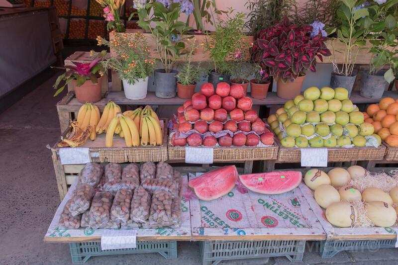 Puerto de Frutos Market visit on Tigre Delta tour
