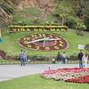 The Flower Clock, Viña del Mar near the UNESCO World Heriage Site the Valparaíso, Chile,  South America