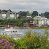 "Puerto Varas, located on the shore of Lake Llanquihue, is known as the ""City of Roses""."