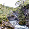 Visit Petrohue Waterfalls and Vicente Perez Rosales National Park in scenic Chile near Puerto Montt